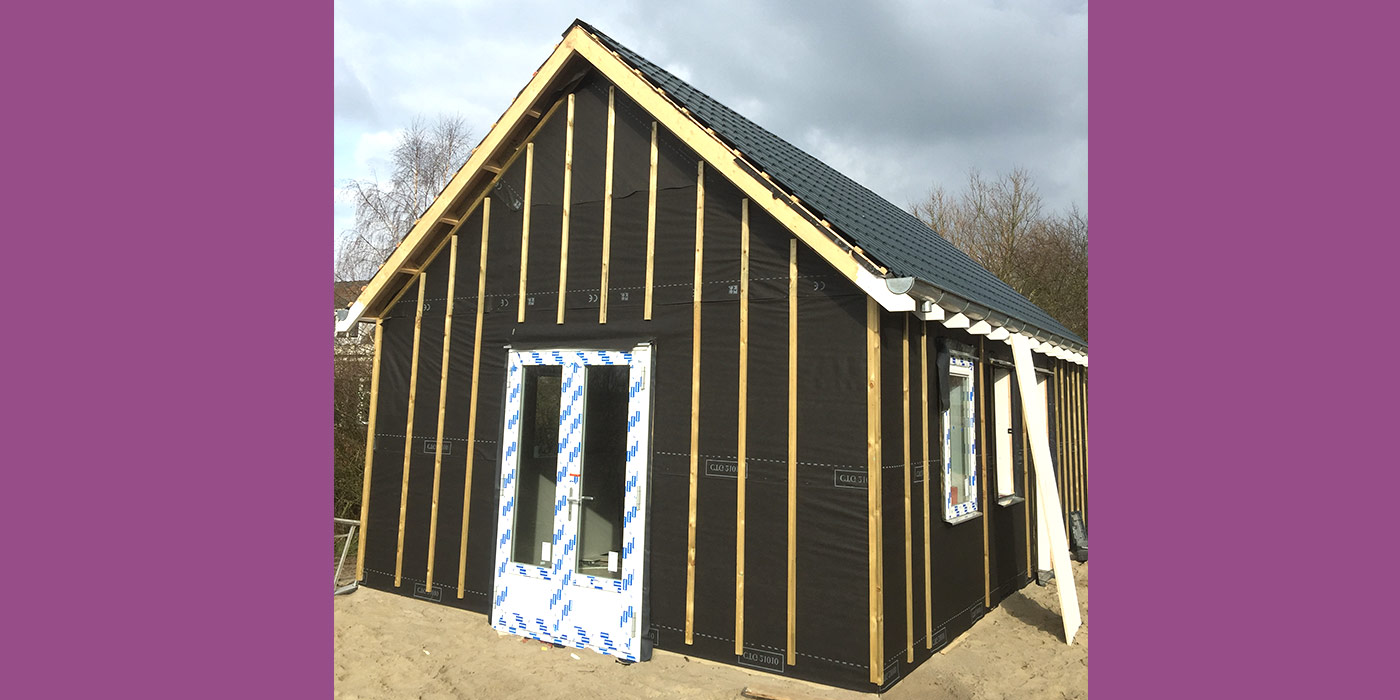 Nieuwbouw aanleg geïsoleerd bijgebouw