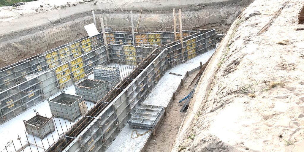 Nieuwbouw woning met kelder